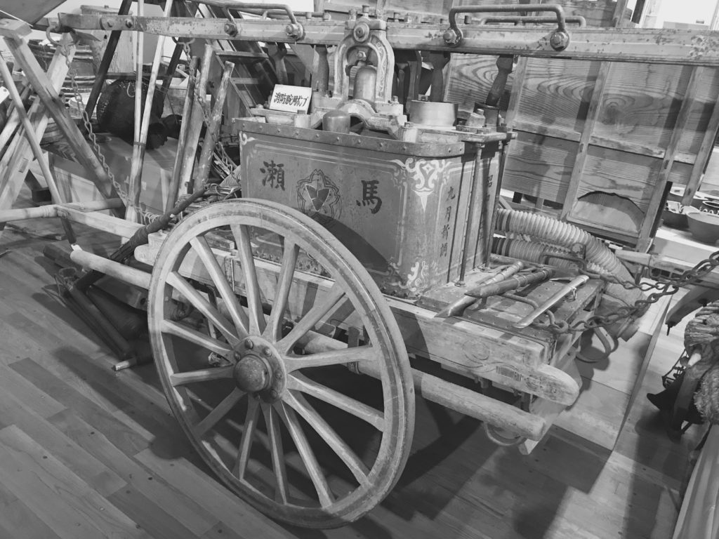 Fire pump-Might be used during the Pacific war 2017/5/9