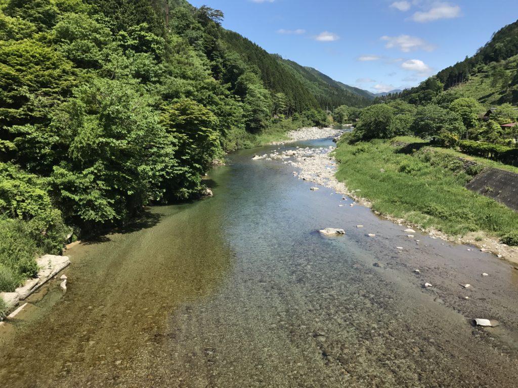 西村地区-向こうまで透明な川 2017/5/28
